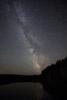 Perseid Meteor Shower over Island Pond, ME