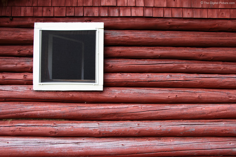 Old Red Maine Cabin
