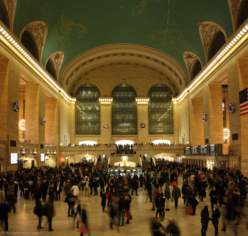 Hustle and Bustle at Christmastime in Grand Central Station