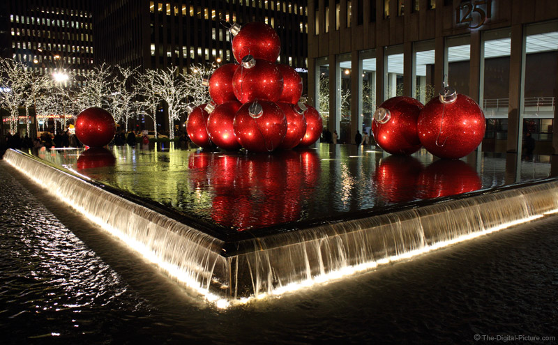 Big Christmas Balls at 1251 6th Ave