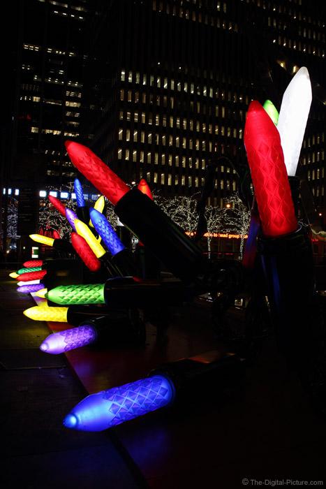 Big Christmas Lights on 6th Ave
