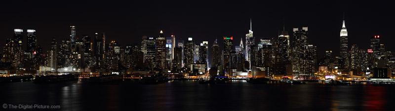 West Manhattan Skyline