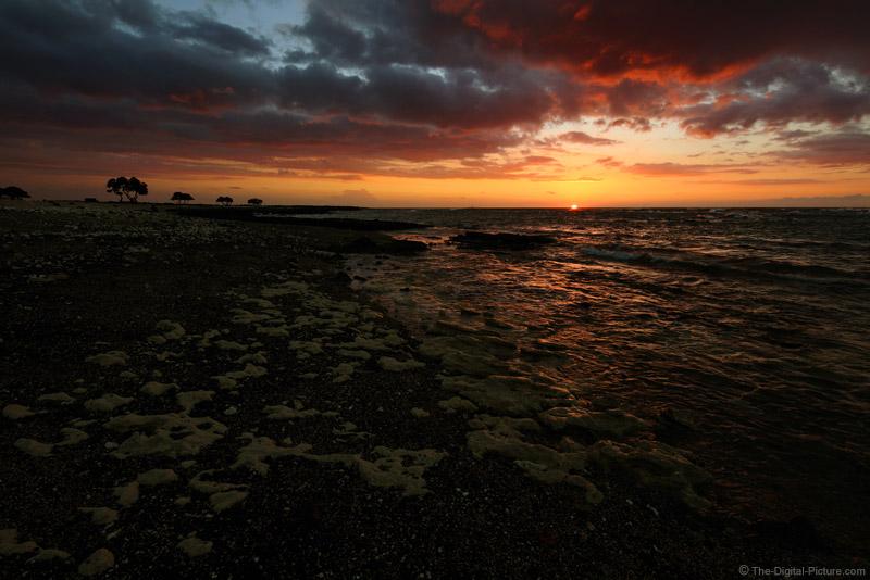 Kekaha Kai State Park Sunset