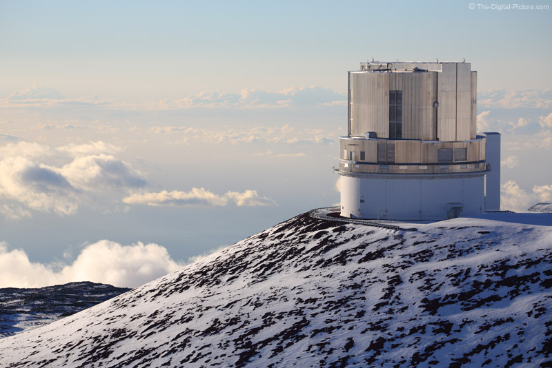 Observatory at Top of Mauna Kea, Big Island