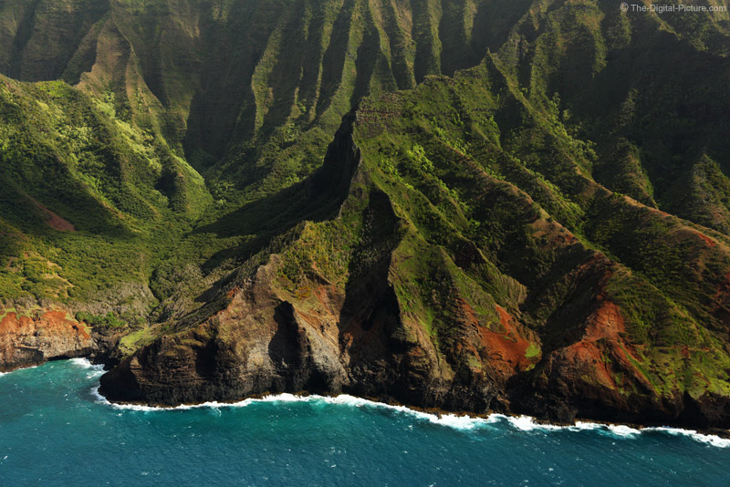 Jagged Cliffs of Na Pali Coast