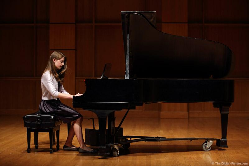 Piano Recital in Concert Hall