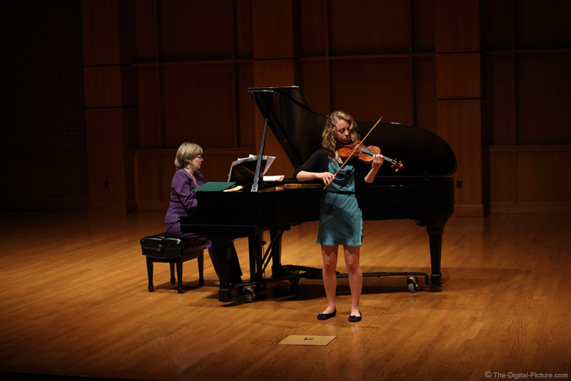 Violin Recital and Stage