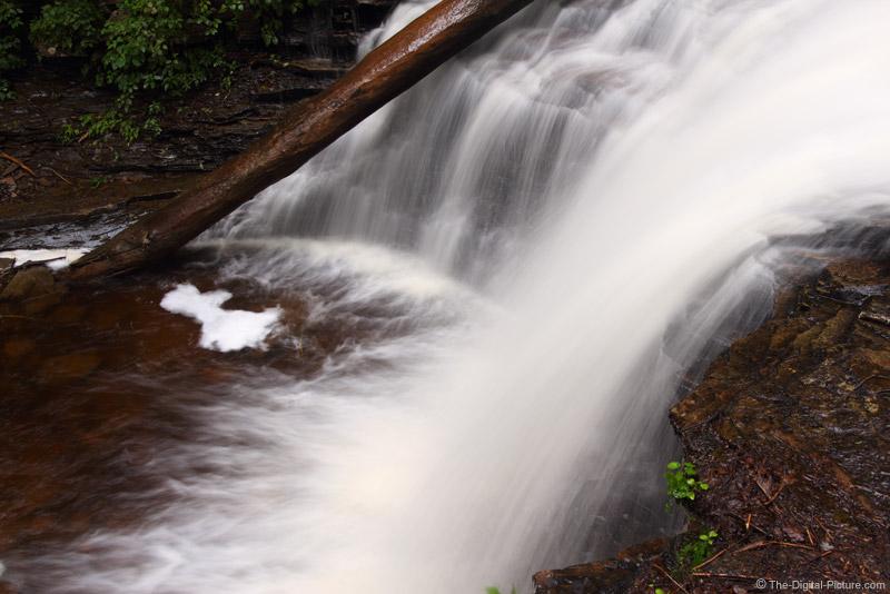 The Log in Shawnee Falls