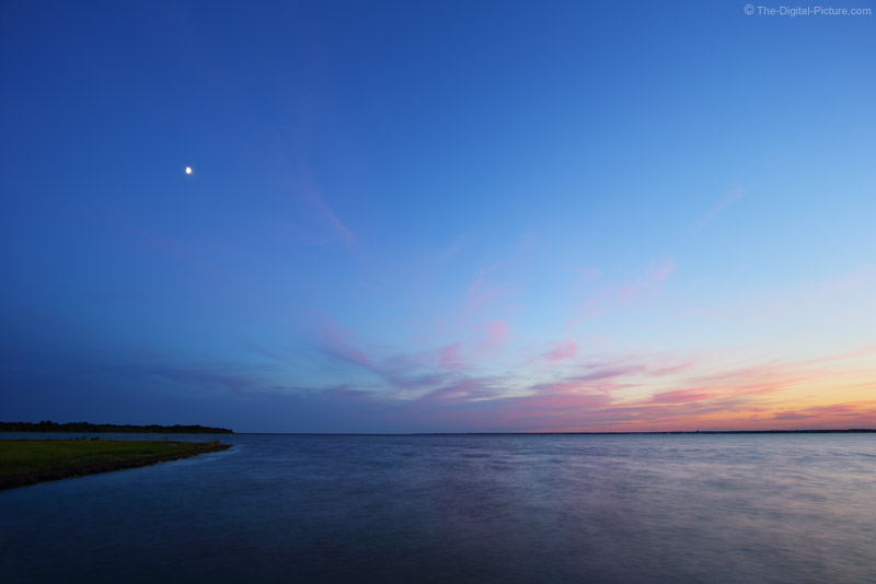 Moon Over Barnegat Bay