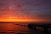 Fiery Sky Over Barnegat Bay