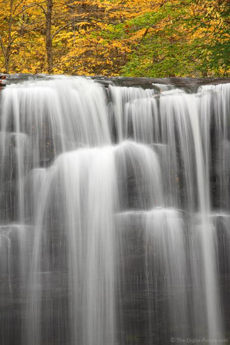 Harrison Wright Falls Close-Up