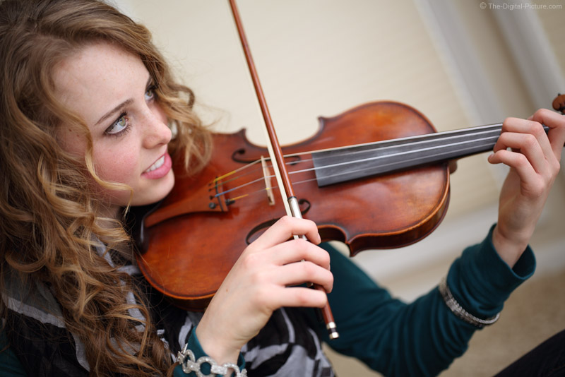 Girl and Her Violin