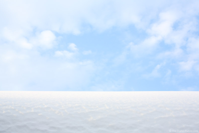 White Snow Dune