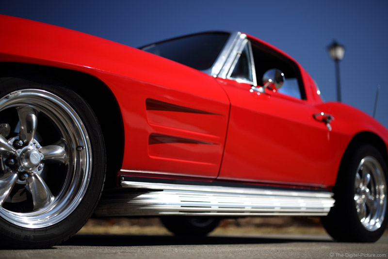 Corvette at f/1.4