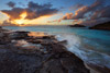 Sunset at Three Mary Cays, Turks and Caicos