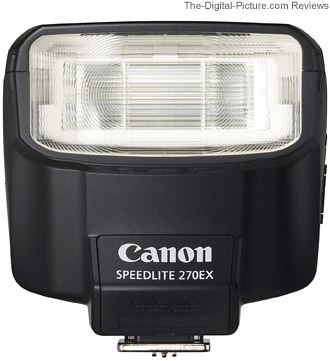 Canon Speedlite 270EX Flash Review