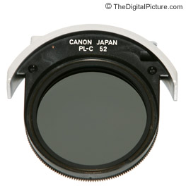 Canon 52mm Drop-In Circular Polarizer Filter