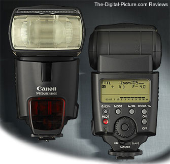 Canon Speedlite 580EX E-TTL II Flash Press Release