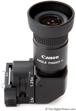 Canon Angle Finder C Review