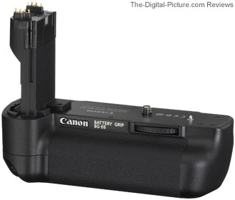 Canon BG-E6 Battery Grip for Canon EOS 5D Mark II Review