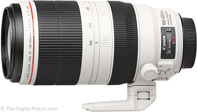 Canon EF 70-200mm f/2.8L IS II & EF 100-400L IS II Lens Rebates Increased