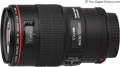 Canon EF 100mm f/2.8L IS USM Macro Lens Press Release