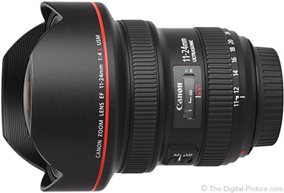 Canon EF 11-24mm f/4L USM Lens Tested on 5Ds R
