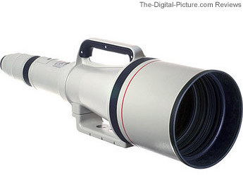 Still In Stock: Used Canon EF 1200mm f/5.6L USM (9+ Condition) - $180,000.00 Shipped