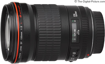 Refurbished Canon EF 135mm f/2L USM Lens - $746.20 (Compare at $989.00 AR)