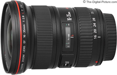 Canon EF 16-35mm f/2.8 L II USM Lens Press Release