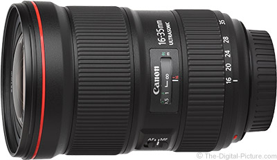 Canon EF 16-35mm f/2.8L III USM In Stock at B&H
