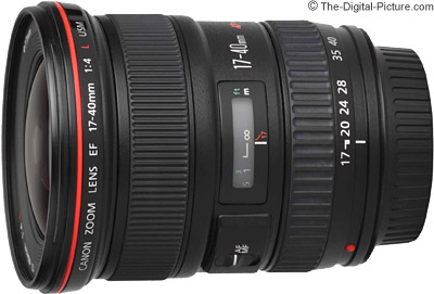 Canon EF 17-40mm f/4 L USM Lens Review