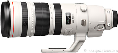 Canon EF 200-400mm f/4L IS Lens Tested on 5Ds R