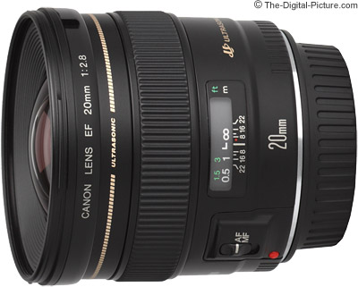 Canon EF 20mm f/2.8 USM Lens Review