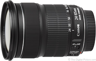 Canon EF 24-105mm f/3.5-5.6 IS STM Lens - $346.34 Shipped (Compare at $599.00)