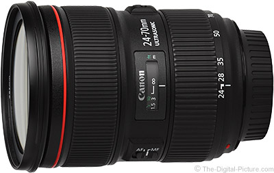 Canon EF 24-70mm f/2.8 L II USM Lens Image Quality Comparison
