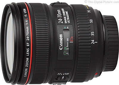 Canon EF 24-70mm f/4L IS USM Lens - $646.93 Shipped (Compare at $899.00)