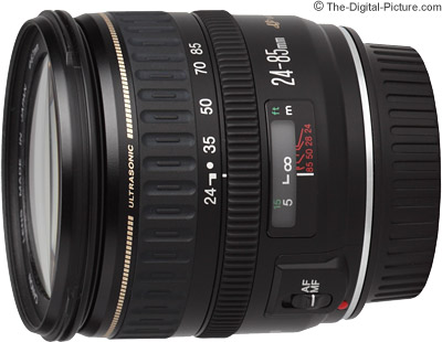 Canon EF 24-85mm f/3.5-4.5 USM Lens Review