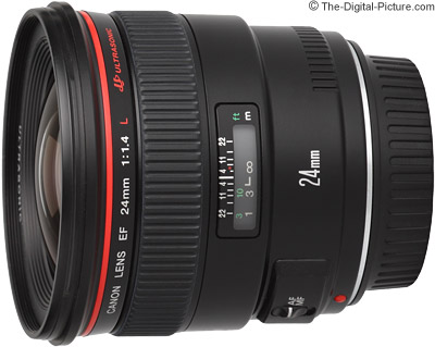 Canon EF 24mm f/1.4L USM Lens Review