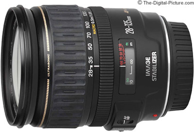 Canon EF 28-135mm f/3.5-5.6 IS USM Lens Tested on the EOS 5Ds R