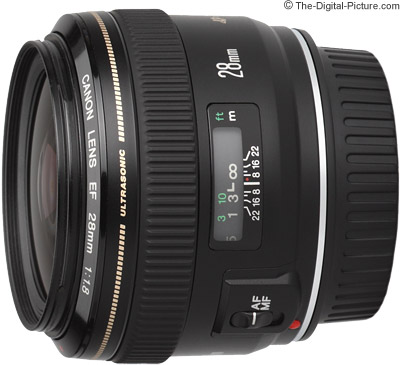 Canon EF 28mm f/1.8 USM Lens Review