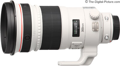 Canon EF 300mm f/2.8 L IS II USM Lens (Open Box) - $5,439.20 Shipped (Compare at $7,299.00 New)