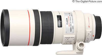 Refurbished Canon EF 300mm f/4L IS USM Lens - $1,034.20 (Compare at $1,349.00 AR)