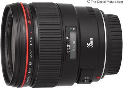 Canon EF 35mm f/1.4 USM Price Drops by $380.00