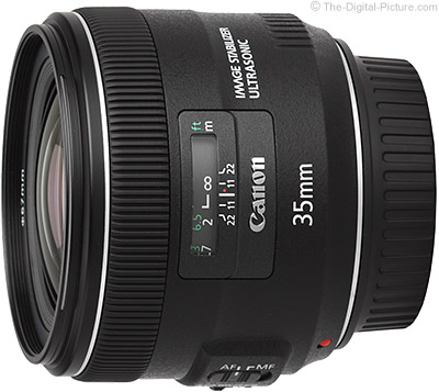 Canon EF 35mm f/2 IS USM Lens USA Press Release
