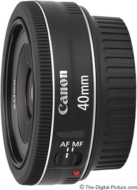 Canon EF 40mm f/2.8 STM Pancake Lens Press Release