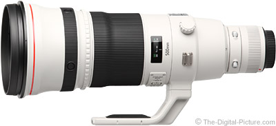 Canon EF 500mm f/4.0 L IS II USM Lens - $9,399.00 Shipped (Compare at $10,499.00)
