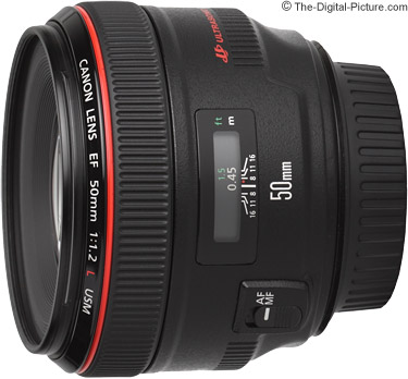 Canon EF 50mm f/1.2 L USM Lens Press Release
