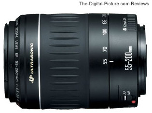 Canon EF 55-200mm f/4.5-5.6 II USM Lens Review