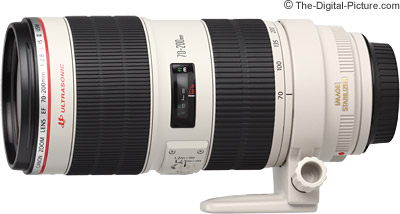 Canon EF 70-200mm f/2.8 L IS II USM Lens Compared to Version I